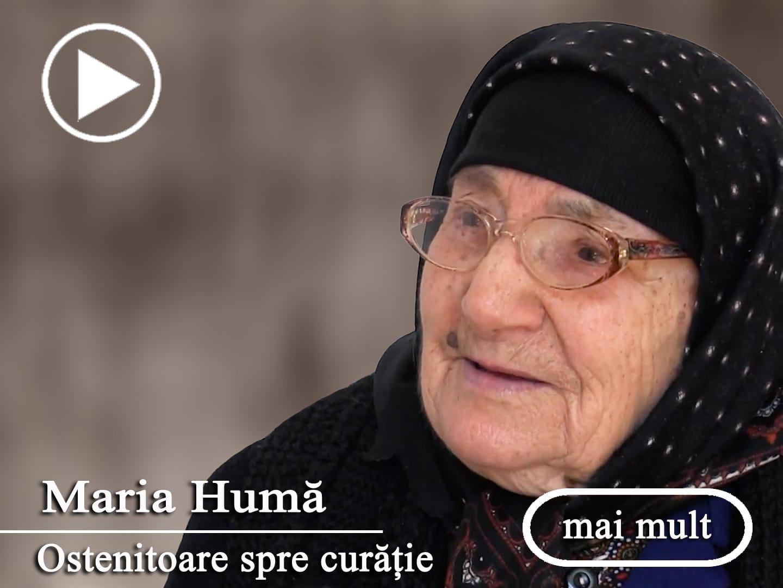Maria Humă - Oameni si istorii