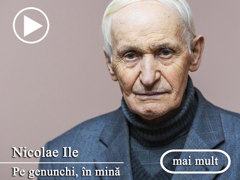 Nicolae Ile - Pe genunchi, în mină